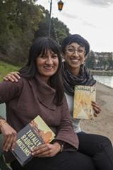 JOE FELDER - Shenaaz Janmohamed and designer Sabiha Basrai of Totally Radical Muslims.