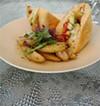 Soft-shell crab sandwich