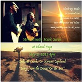 DEBORAH CROOKS - Songs from the Desert & the Sea at New Acoustic Music Series