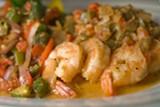 CHRIS DUFFEY - Spicy barbecue shrimp.