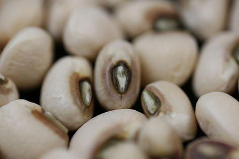 Start the New Year with a bowl of black-eyed peas.
