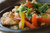 CHRIS DUFFEY - Steeped in flavor: Chicken fried rice clay pot.