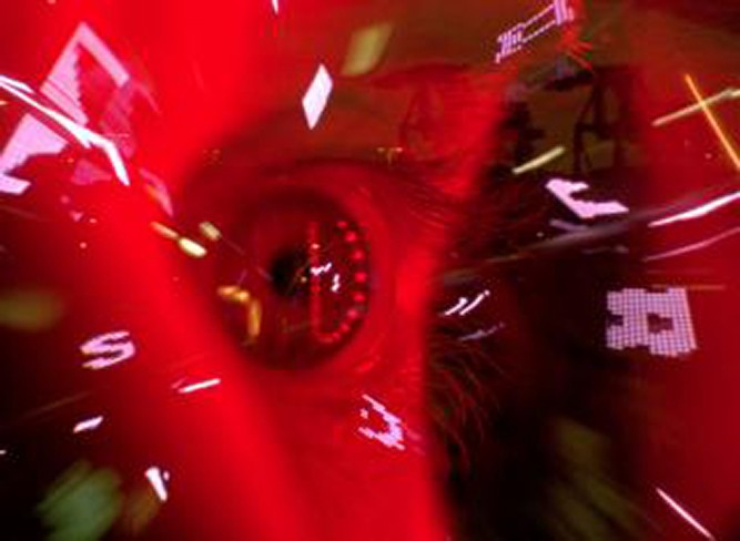 "Still from Paul Clipson & Grouper's ""Hypnosis Display."""