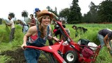 Still from the documentary Occupy the Farm.