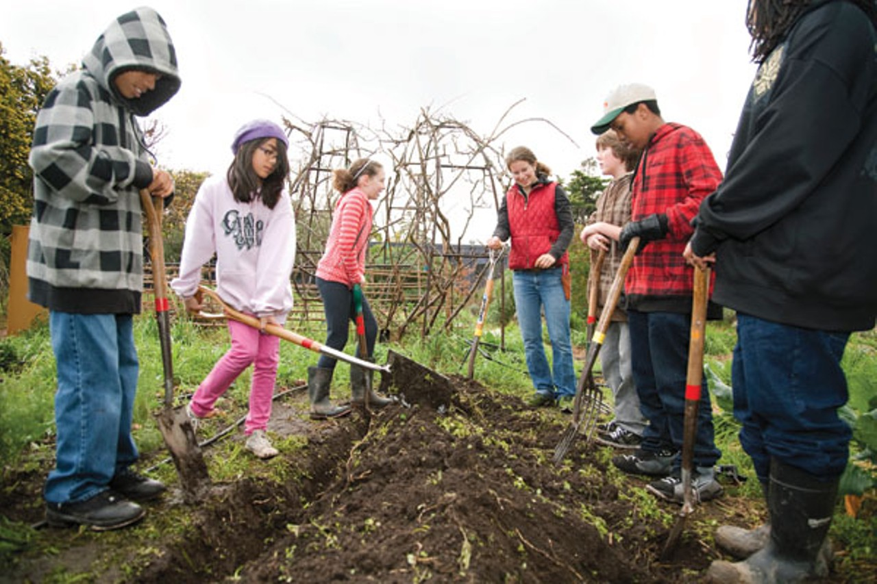 Reading writing and replanting east bay express for Soil xchange