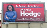 ROBERT GAMMON - Suddenly Hodge has costly billboards all over the city.