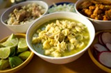CHRIS DUFFEY - Taco Grill's soups each have their own distinct character.
