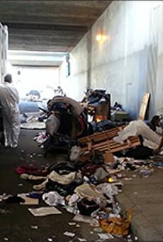Targeting Homeless Encampments