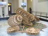Taro Hattori's City Hall installation.