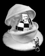 Taro Hattori's disco-ball grenade.