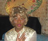 "Thandiwe Thomas De Shazor as ""the Prophetess."""