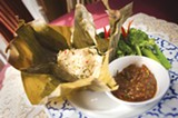 CHRIS DUFFEY - That Luang Kitchen's mok pla has been added to our list of East Bay favorites.