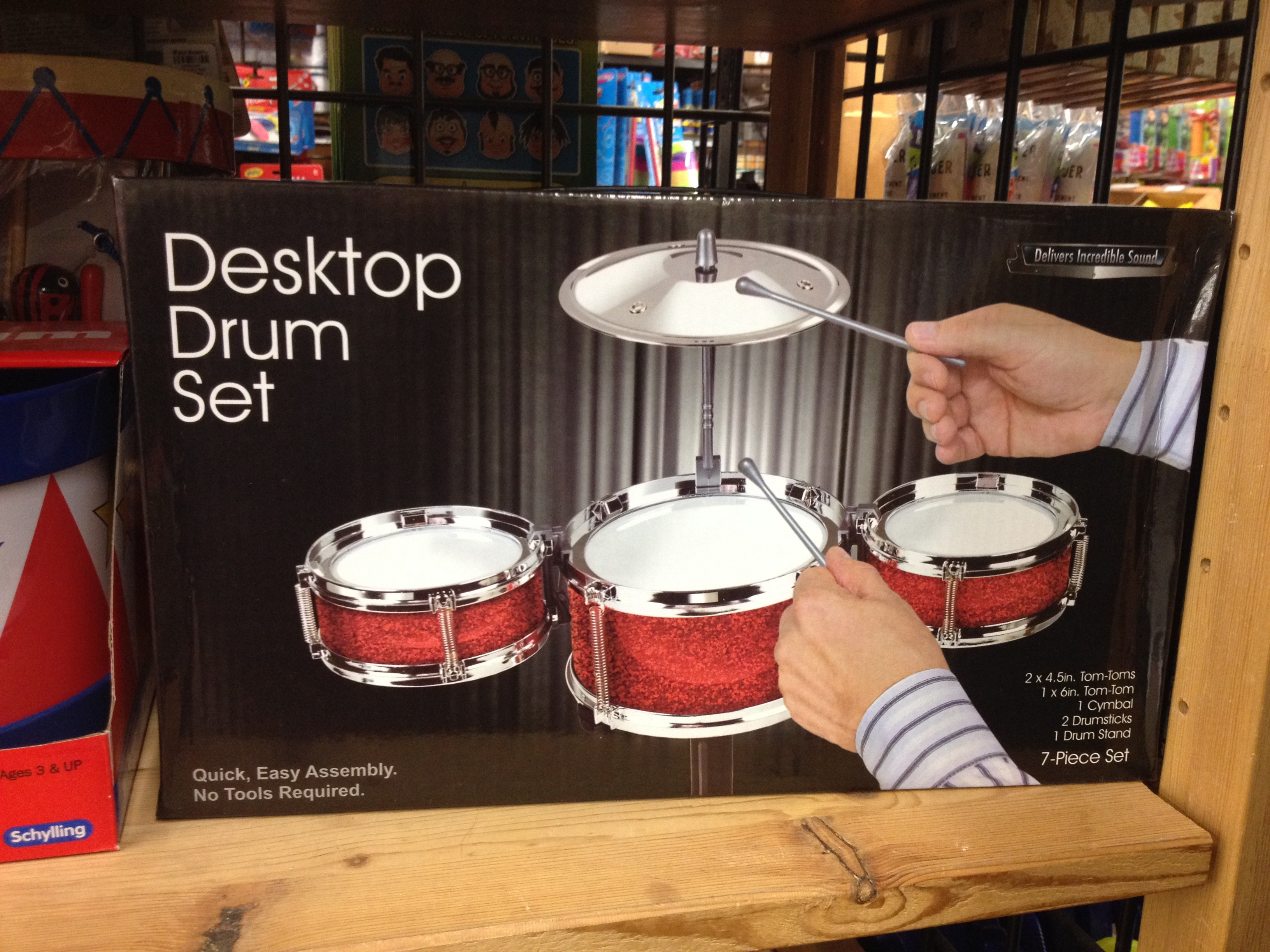 Mini Desk Drum Set Hostgarcia