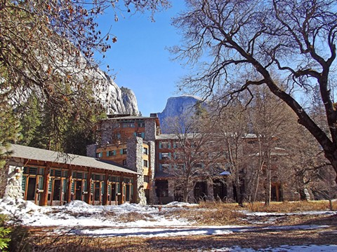 The Ahwahnee Hotel, which opened in 1927, is a National Historic Landmark. - WIKIMEDIA COMMONS