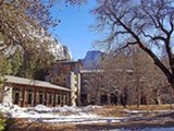 WIKIMEDIA COMMONS - The Ahwahnee Hotel, which opened in 1927, is a National Historic Landmark.