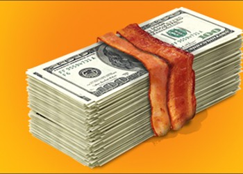 The Bacon-Wrapped Economy