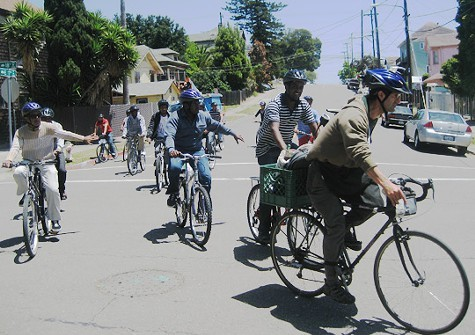 The Bike Down benefits Cycles of Changes Bike-Go-Round program.