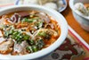 The <i>bun bo Hue </i>was rich and deeply flavorful.