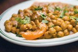 PHOTO BY CHRIS DUFFEY - The chana masala packs enough protein to fuel a nice long hike.