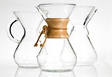 The Chemex is one of the most popular brewing methods.