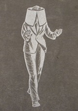 """The cover of Giacomo Patri's """"White Collar."""""""