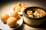 STEPHEN LOEWINSOHN - The dim sum isn't particularly inventive, but it's straightforward versions of the classics.