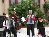 JOE COMO - The Ellis Island Old World Folk Band: one band you won't see at this year's Solano Stroll.