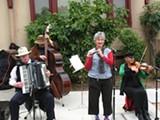 JOE COMO - The Ellis Island Old World Folk Band: one band you won't see at this year's Solano Stroll.