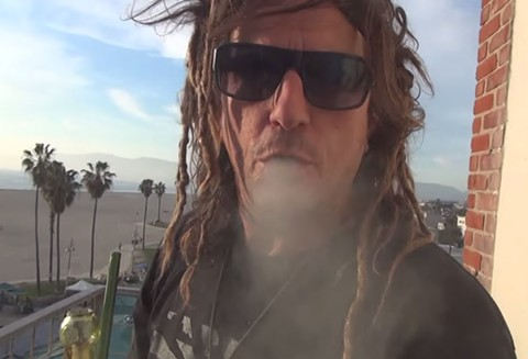 CCHI's Jolson in a promotional video for the 'Jack Herer Initiative'. - CCHI