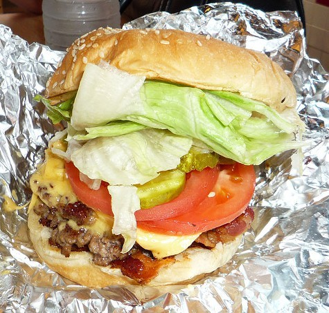 The Five Guys burger: Coming soon to a mouth near you!