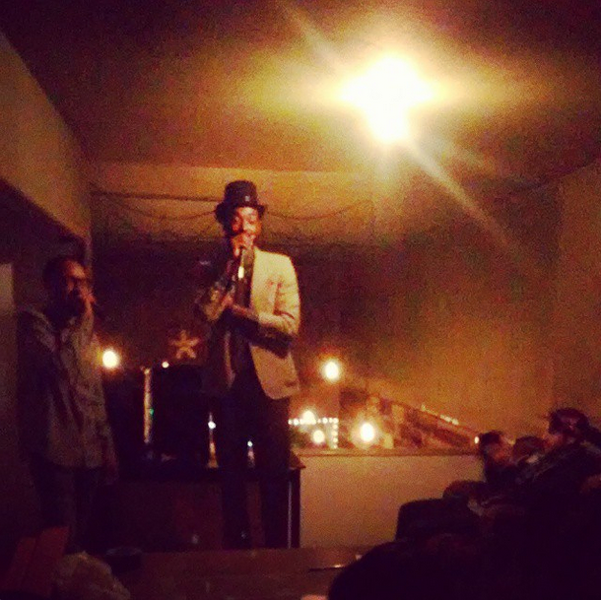Comedy show in the loft (via Instagram, @thehatchoak)