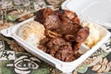 BERT JOHNSON - The Hawaiian Plate was unreasonably delicious considering its humble ingredients.