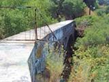 "RICK BETITA - The infamous ""bridge"" at the Secret Sidewalk."