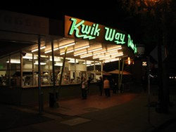 The Kwik Way is back (sort of). Via Facebook.