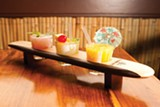 STEPHEN LOEWINSOHN - The mai tai wave offers three miniature versions of the world-famous rum drink.