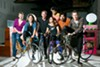 The members of Agile Rascal Traveling Bike Theatre are ready to ride across the country.