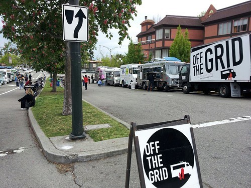 The North Berkeley Off the Grid offers participating trucks a slew of perks — for a price.