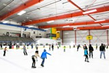 STEPHEN LOEWINSOHN - The Oakland Ice Center provides an afternoon of fun for families.