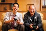 STEPHEN LOEWINSOHN - The odd couple: Gene Yang and Thien Pham.