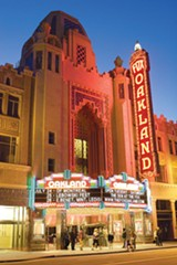 SONYA REVELL - The opulent Fox Theater has become the center of the East Bay's entertainment district.