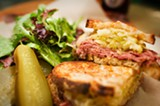 CHRIS DUFFEY - The pastrami sandwich is aggressively spiced: tasty but nontraditional