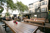 BERT JOHNSON - The patio at Portal is awesome in the way that a cozy backyard deck is awesome.