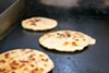 The <i>pupusas</i> are made to order.