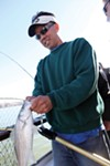 The recent catch on the <i>California Dawn</i> party boat was striped bass.