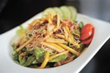CHRIS DUFFEY - The roast duck vermicelli is a highlight of the menu.