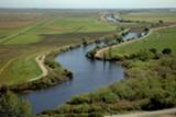 The Sacramento-San Joaquin River Delta.