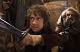 The second installation of The Hobbit trilogy is pretty watchable, even if you're not eight years old.