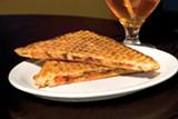 SONYA REVELL - The Sidebar cheese panini.