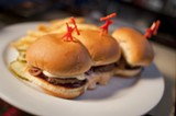 CHRIS DUFFEY - The slider trio proved Rudy's can sling a decent patty.