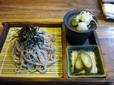 LUKE TSAI - The soba lunch is very traditional.